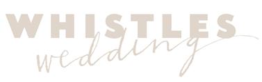 Whistles Weddings logo