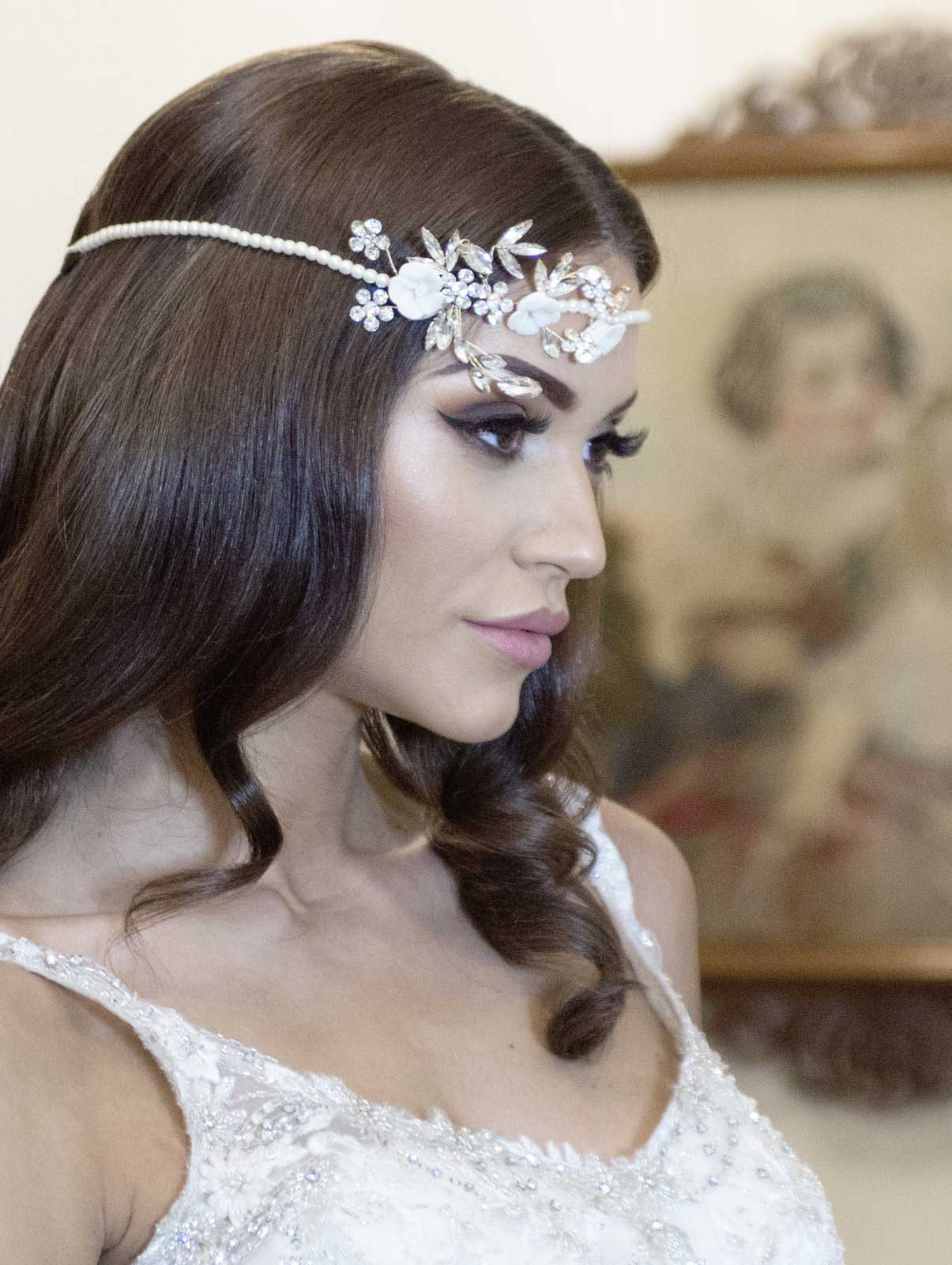 A Vintage Fairytale - Crystal and Pearl Bridal